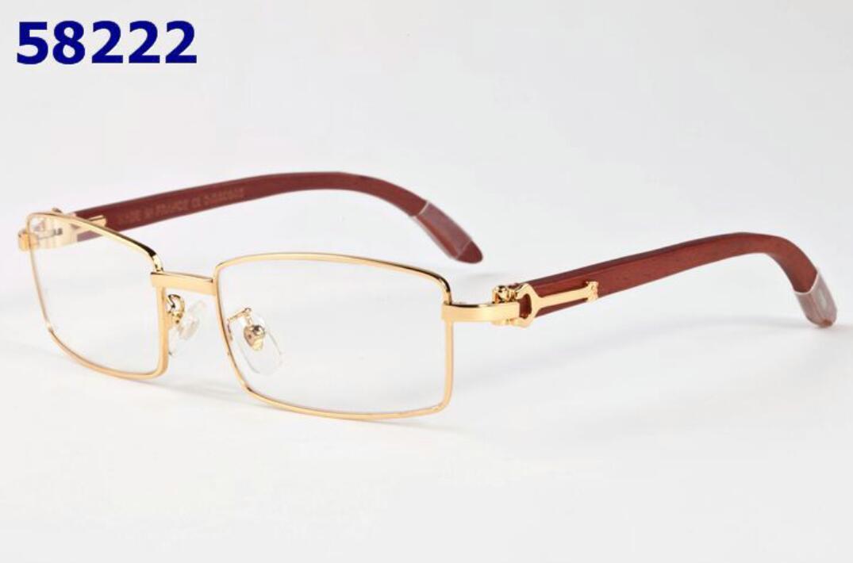 Legno nuovi occhiali da sole 2020 uomini di legno corno di bufalo vetri le donne Moda Uomo Sport Bianco senza orlo di bambù di vetro di Sun Oculos de sol masculino