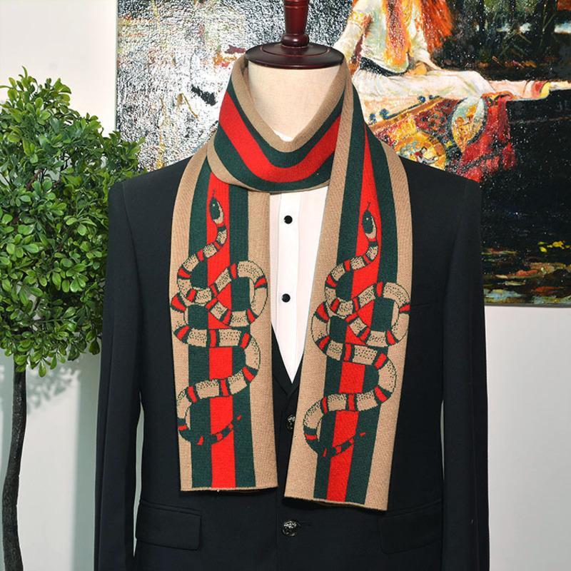 Осень и зима мужской шарф стиль цвет соответствия полосы высокого качества всего матча простой студент кашемир шерстяной шарф