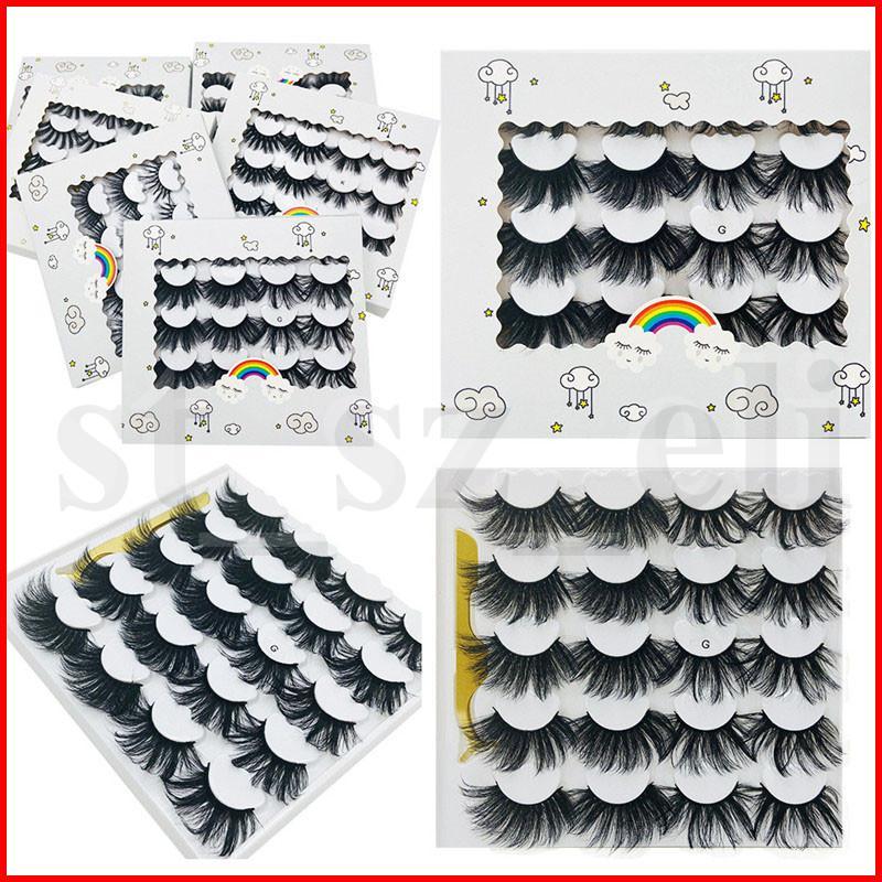 10 pares 3D Mink cílios dos olhos maquiagem Mink cílios falsos Macio Natural Grosso Falso Cílios 3D Eye Lashes Extensão Com pinça beleza ferramentas