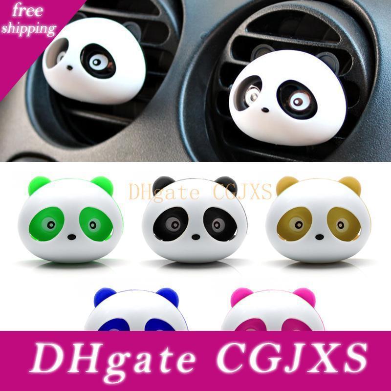 Leepee Авто Уход за автомобилем Vent освежитель автомобилей Духи интерьера Cute Panda освежитель воздуха