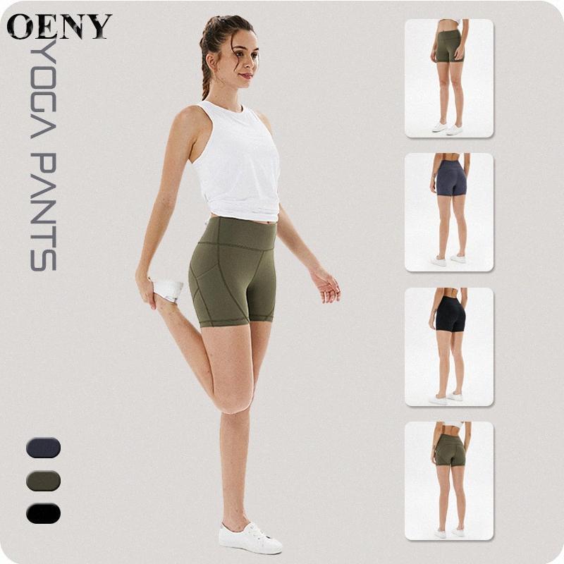New Fashion Yoga Shorts Mulheres Mulheres Sexy Biker Shorts de aptidão Coreano Casual Sexy Curto Algodão Preto Athleisure bigD #