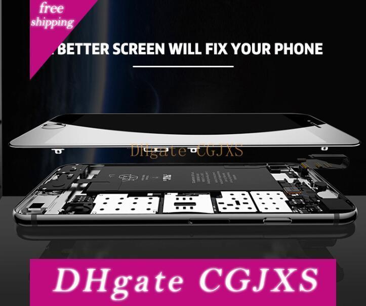 Mostra Nuovo grado A LCD per Iphone 6 Digitizer schermo completo di telaio sostituzione Assemblea completa per Iphone 6 Plus DHLFree