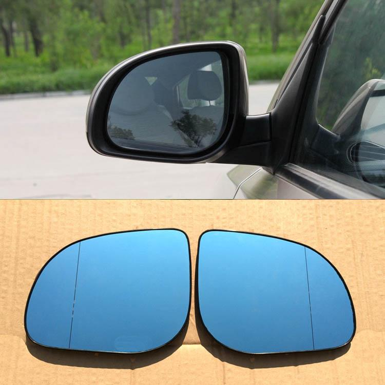 Para Hyundai Verna Car Espelho Retrovisor Grande Angular Hyperbola Azul Espelho Seta LED Turning Luzes de Sinalização