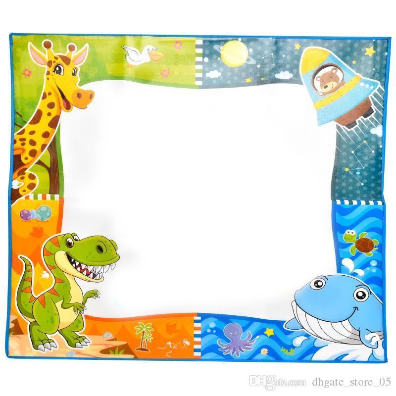 Kid Игрушка Раннего Обучение Игрушки 2 в 1 напыление Одеяла для Одеяла Детей Ткани обучения Обучения рисования