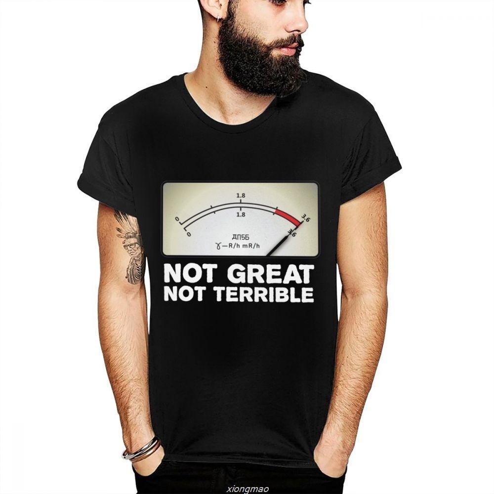 Il design non grande non è terribile 3,6 Roentgen Chernobyl Nizza maglietta estate impressionante comodo girocollo La Camiseta