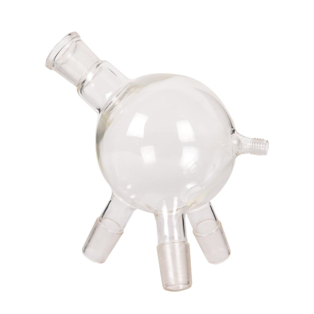 """Acessórios Path ZZKD frete grátis Laboratório Curto Destilação Sistema 5L Evaporating garrafa e Receber """"vaca"""" Flask"""