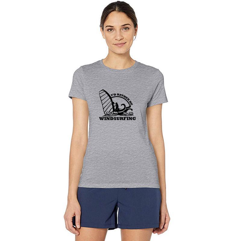Imprimer planche à voile cadeaux Windsurfer Windsurf Surfer T-shirt pour les hommes d'été T-shirt pour hommes en coton S-3XL simple T-shirt homme