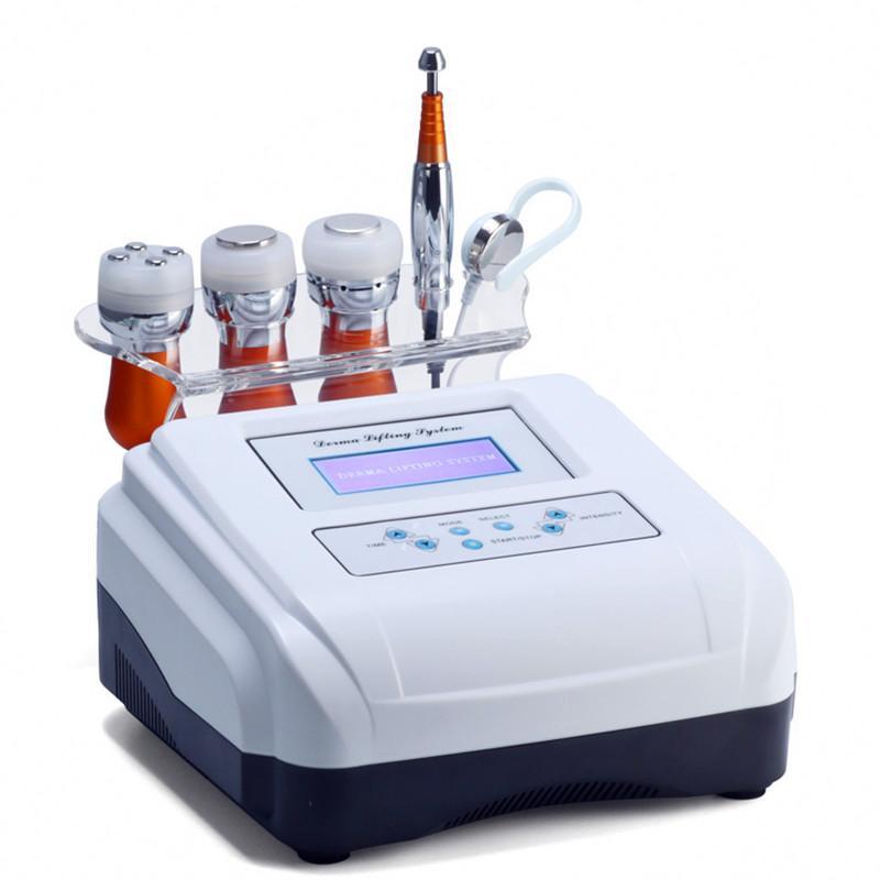 5 في 1 EMS electroporation مكافحة الشيخوخة rf الجمال آلة الصمام الجمال جهاز الوجه رفع الجلد تبريد العين العناية بالبشرة أداة