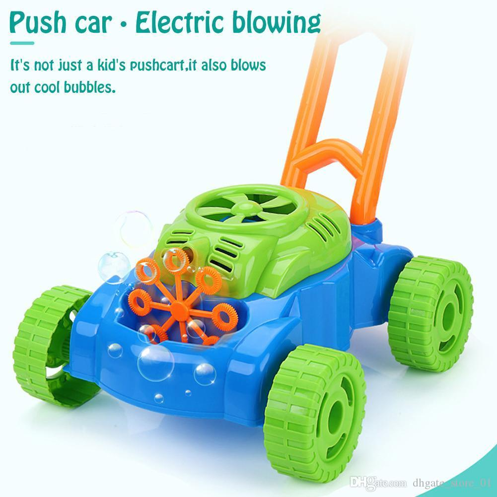 Creative Pushing Car Automatic Bubble Machine Baby Kids Toy Gift Electric Bubble Gun Summer Outdoor Game 06