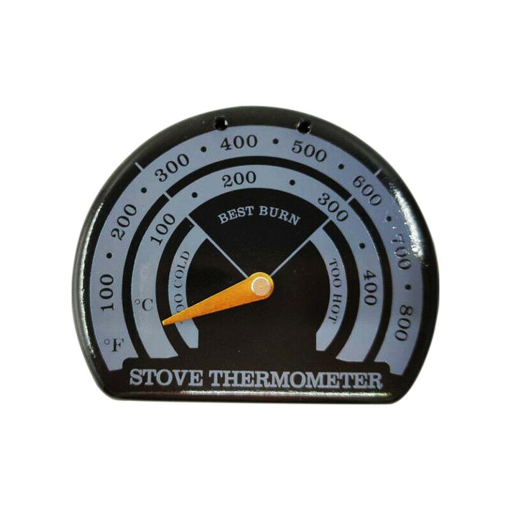 Lareira Peças Fogão Termômetro esmalte Pointer Medida preciso da temperatura