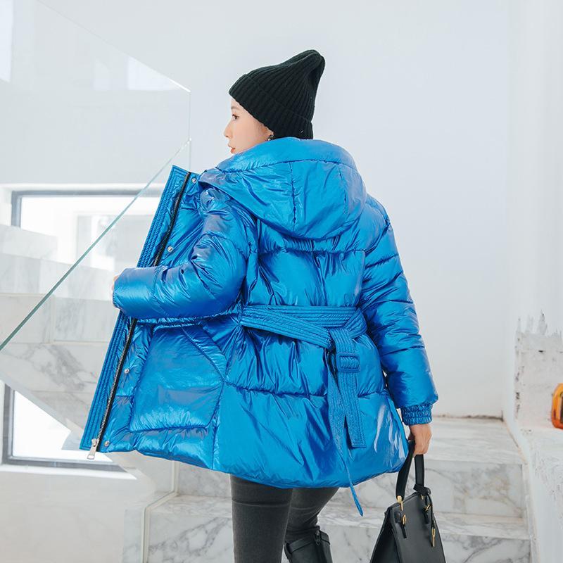 Casaco de Inverno Mulheres Estilo coreano com capuz Parkas algodão Mulheres de grosso roupas femininas roupas casacos e jaquetas Mulheres Y1905 WPY855