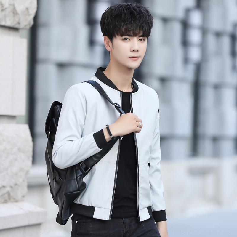 beau et automne vêtements veste veste 2019 style tendance manteau décontracté printemps coréen nouveau cardigan tout match de haut des hommes tguOT 4JFpH