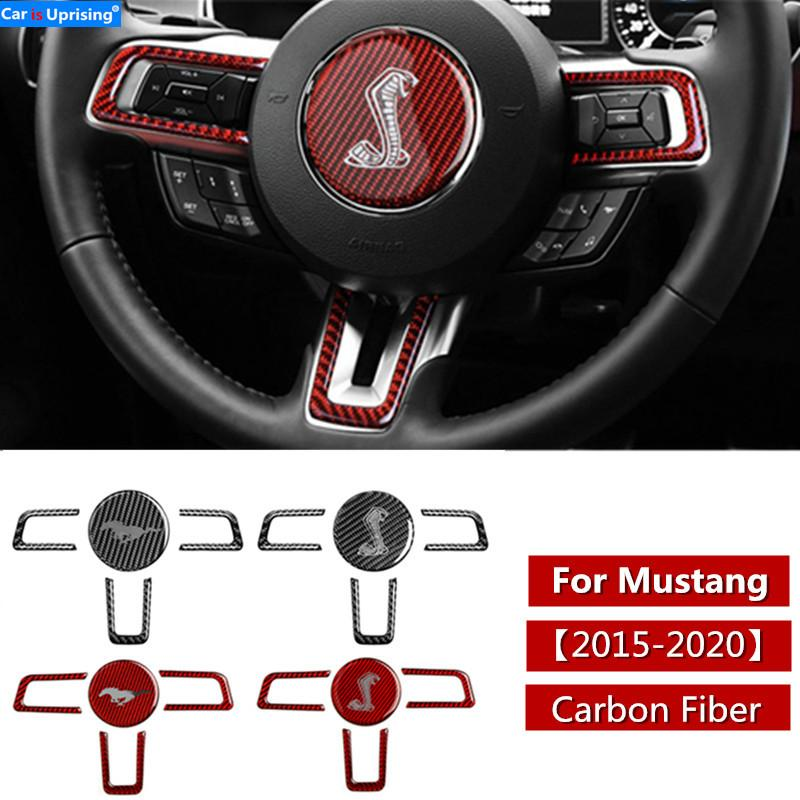 2020 car interior steering wheel cobra shelby horse logo emblem carbon fiber stickers car styling for ford mustang accessories from zjy547581580 15 08 dhgate com 2020 car interior steering wheel cobra shelby horse logo emblem carbon fiber stickers car styling for ford mustang accessories from zjy547581580
