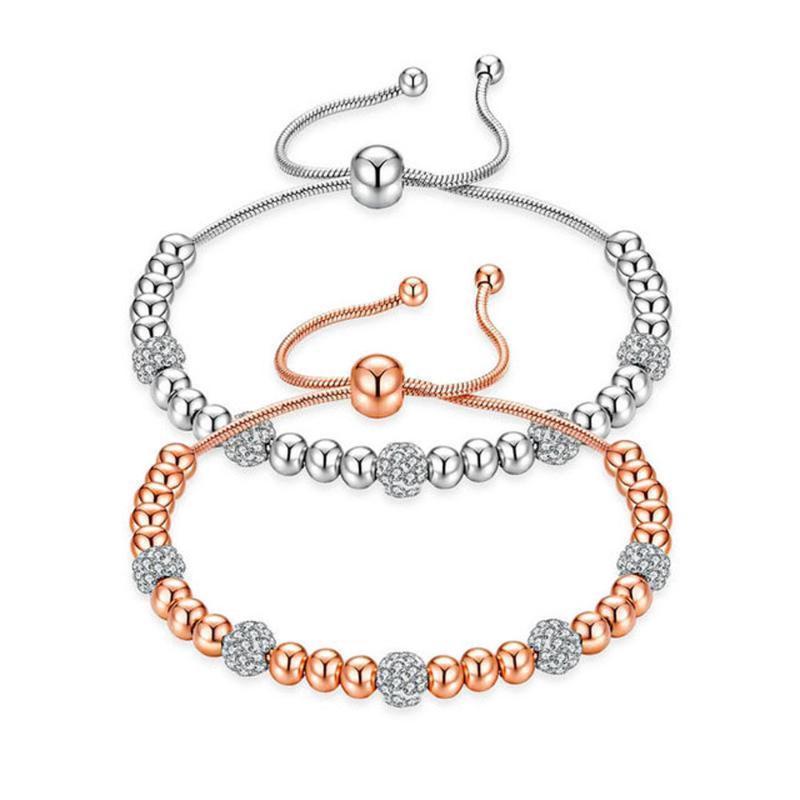 LAN Rope justierbare Perlen Armbänder für Frauen handgemachte klassische Armband-Strang-Armband-bestes Geschenk freies Verschiffen
