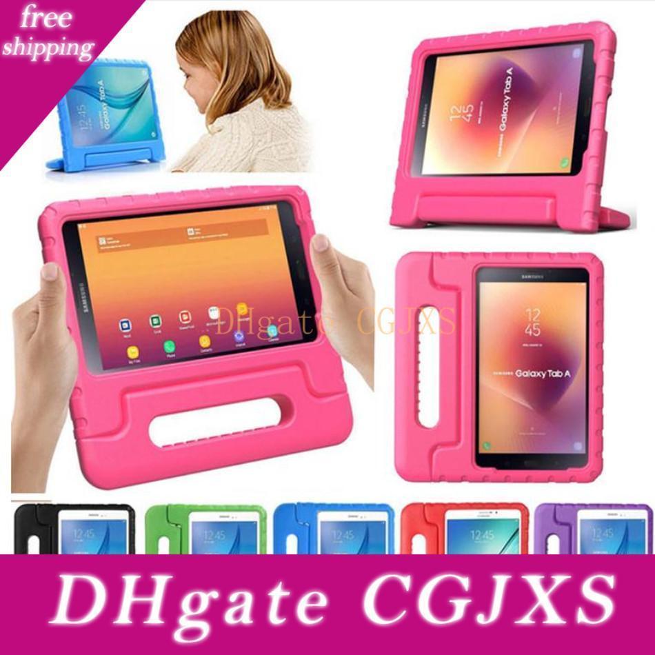 Per Samsung T530 T560 Ipad 2 3 4 Lg -V495 antiurto caso Eva schiuma morbida Tablet Bambini Bambini maniglia del basamento della copertura di protezione Tablet