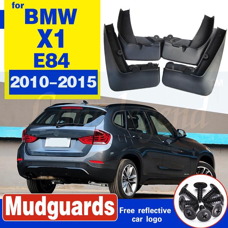 4pcs accessoires automobiles pour BMW X1 E84 2010-2015 BOUE garde-boue Garde Splash Garde-boue style voiture