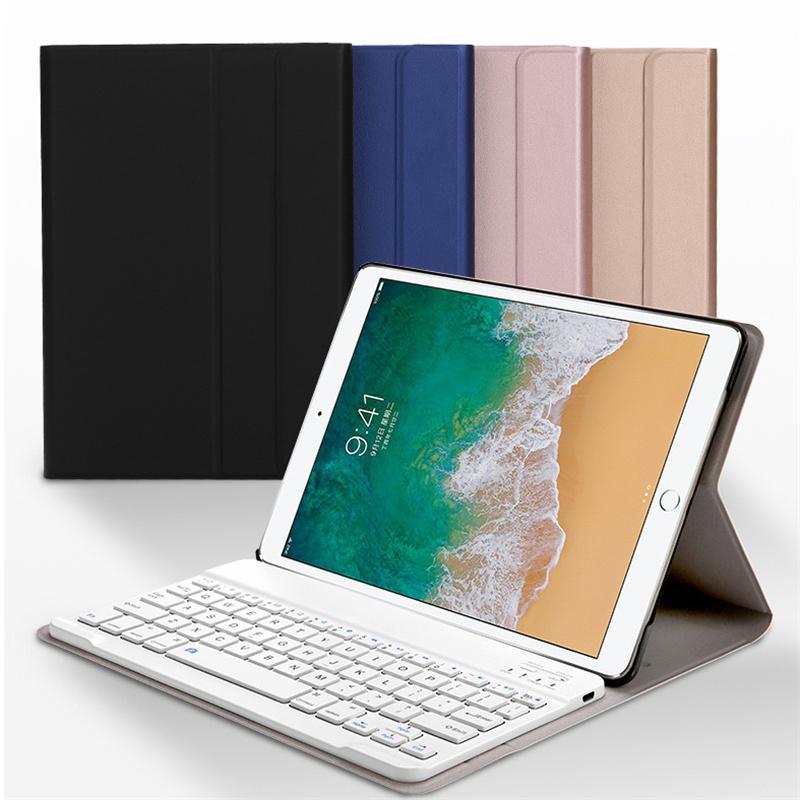 Bluetooth caja del teclado para Ipad 10.2 Pro 11 2017 2019 9.7 aire Mini 5 4 3 2 pulgadas de la tableta cubierta de cuero