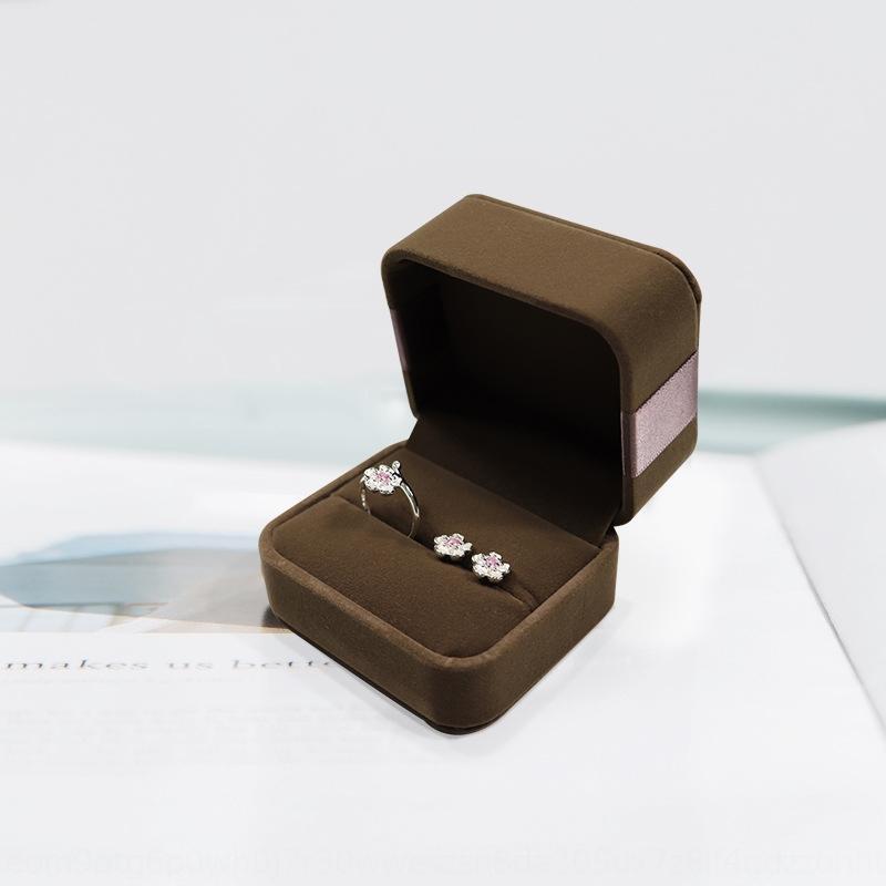 Sombre anneau de bijoux arc rouge boîte de rangement collier de stockage Bracelet boîte de cadeau bracelet
