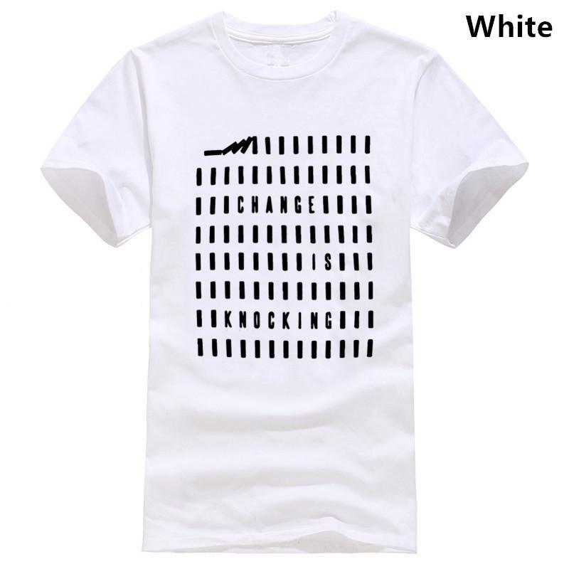 100% algodão verão fresco homens engraçados T-shirt ocasional de manga curta de moda T-shirt para homens kintted tshirt camiseta