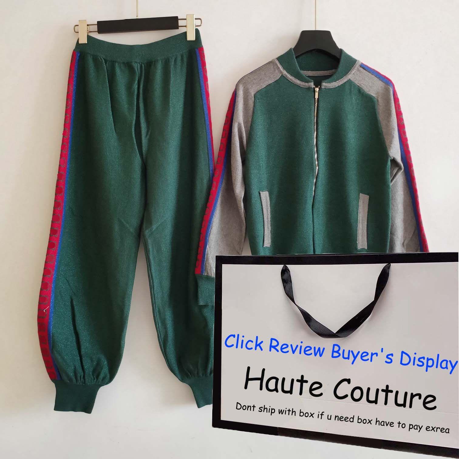 2020 Mens Fashion Tracksuits Grün Blau Herbst neue Ankunfts-Langarm-Zip Neck Men Casual Outfits Jacke + pants Jogger asiatische Größe