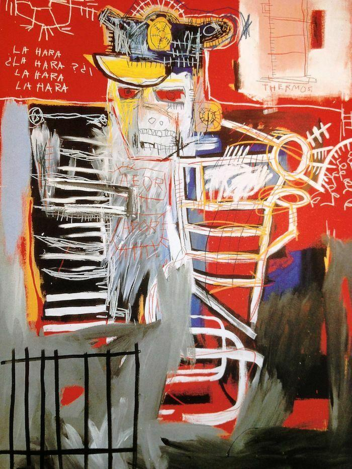 Jean Michel Basquiat La Hara Home Decor Handpainted &HD Print Oil Painting On Canvas Wall Art Canvas Pictures 200816
