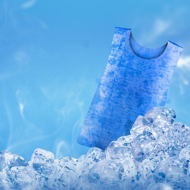 Yelek PVA Su geçirmez Kumaş Yüksek Sıcaklık Koruyucu Buz Yelek Doğa Sporları Çalışma Soğutma Yaz Soğuk Anti-ısı