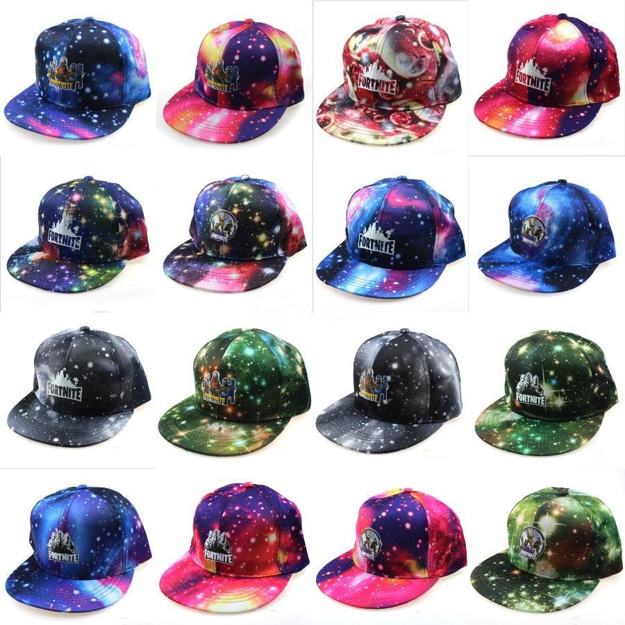 Sommer 2020 der neuen Baumwollmens Fortnite Hut Unisex Frauen Männer Fortnite Hüte Goldene Hip Hop Baseball Printed Cap Snapback Adjustable Beiläufiges Pr # 489