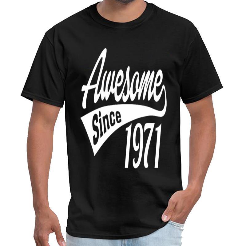 Özel Müthiş 1971 selena gömlek homme thunderdome t shirt 3XL 4XL 5XL tee üstleri yana