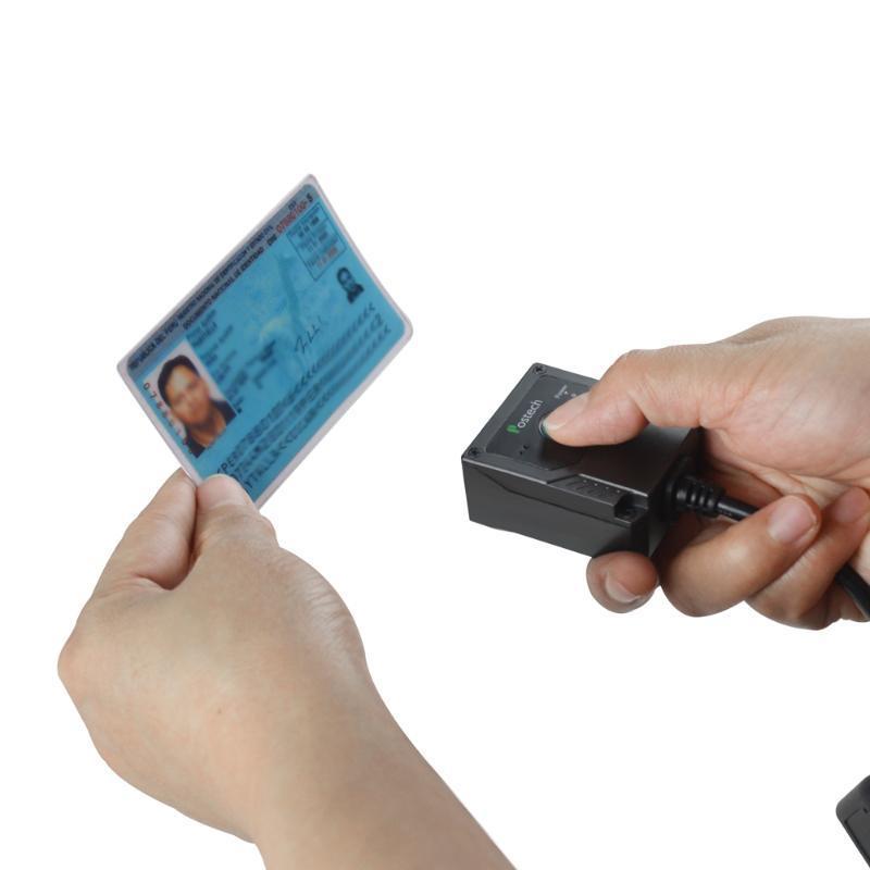 MS-430 Wired USB RS232 2D-Passport Reader OCR MRZ-Barcode-Scanner
