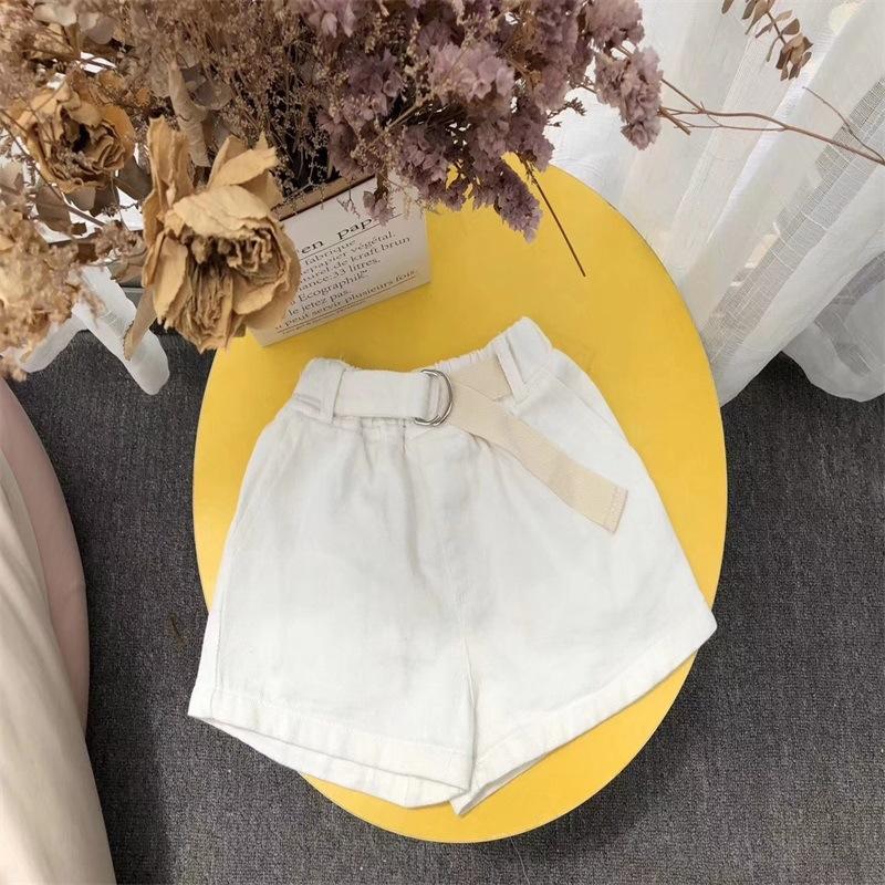 jean short filles bébé vêtements en jean style coréen d'été pour enfants lavé les vêtements pour enfants