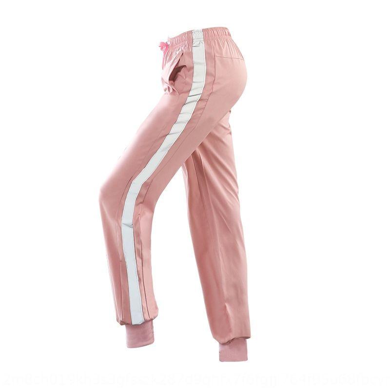 Donna Primavera coulisse estate nuove e di abbigliamento yoga pantaloni EBzFU striscia riflettente tuta disegno Yoga sciolto pantaloni sport riflettenti p Uj4re