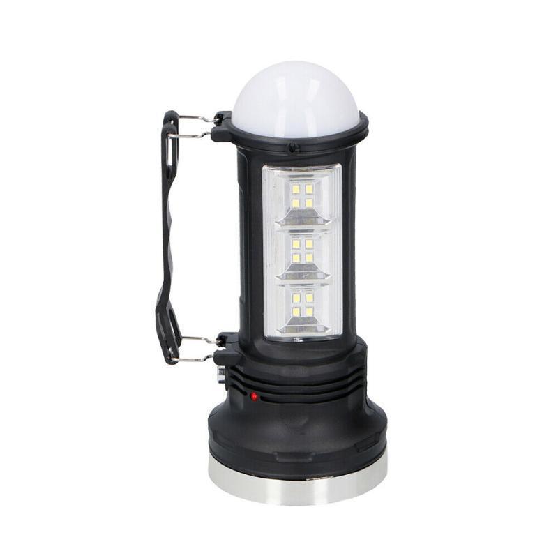 Alimentato a batteria Escursionismo multifunzione Garden campeggio della lampada lanterna appesa all'aperto LED impermeabile USB ricaricabile portatile
