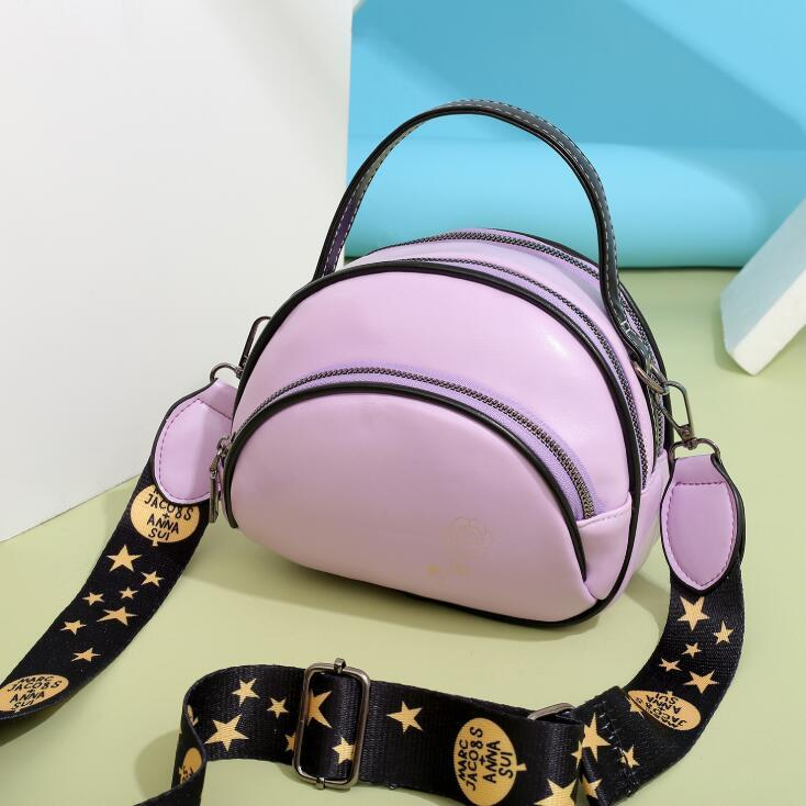 Fashion Girl Мини-мешки плеча PU Женщины Crossbody три слой Малой сумки кожи высокого качества