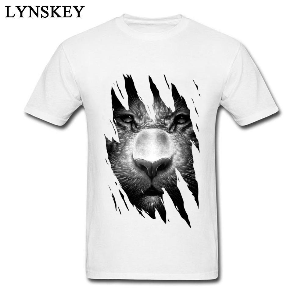 XXL Scroll Tiger Escher T-Shirt Lustiges billiges Baumwollwehrmacht Death Metal Tops T-Shirt Neuheit-T-Shirts in Übergrößen