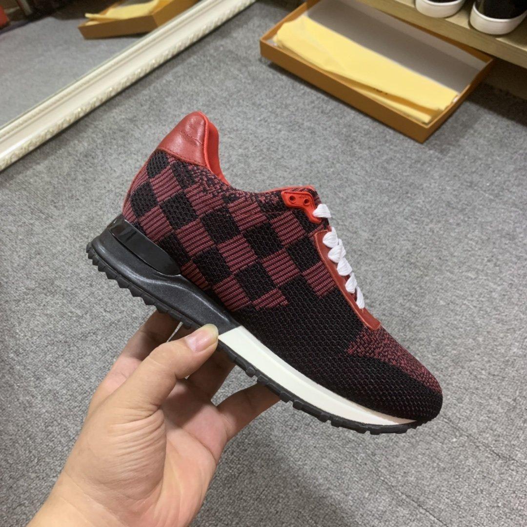 2021b Yeni Trend Deri Ayakkabı Nefes Erkekler Ve Kadınlar Doğa Sporları Ayakkabı Moda Vahşi Baskı Parti Çift Ayakkabı, Boyut 35 -45