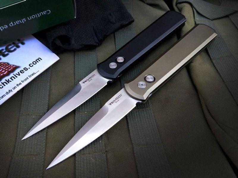 Protech padrino 920 singola azione tattica autodifesa pieghevole tasca regalo di caccia EDC Lama di campeggio coltelli da caccia natale A3110