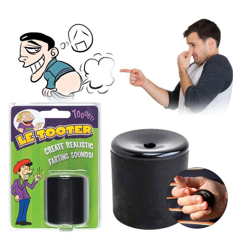 Spremere Tubo Creare realistico Farting Fart Sounds stress Divertente Relief Giocattoli puntelli magici scherzo di burla di spettacolo Party giocattoli divertenti
