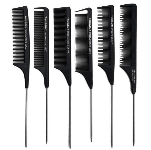 Profissional Anti-Static Rat cauda Pente de metal pente de cabelo cabeleireiro cabelo utilização beleza ferramenta Toni Guy