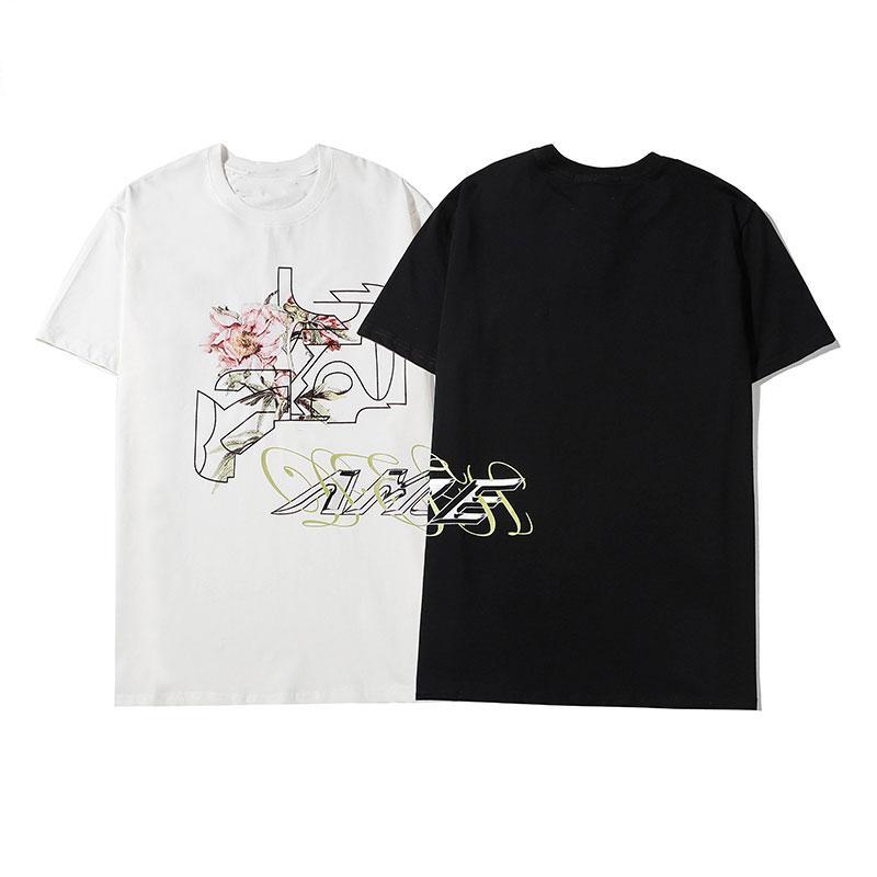 Mode T-shirt 2020 de haute qualité grâce à manches courtes Vêtements pour hommes Casual femmes avec lettres imprimées Blacka Disponible Blanc Taille M-2XL