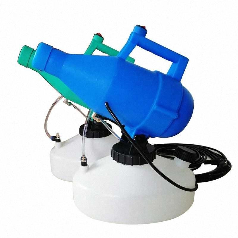 4.5L запас электрической дезинфицирующий холодной запотевание машины сельскохозяйственного пестицида портативный ULV фоггер 5qW8 #