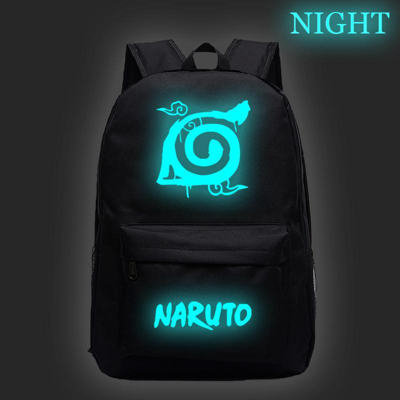 Yeni tasarım! Öğrencilerin, erkek ve kız, Uchiha Sasuke tarafından sevimli sırt çantası için Naruto ışıltılı klasik sırt çantası