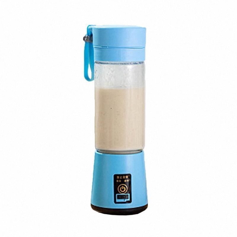 Портативный USB аккумуляторная Fruit Соковыжималка Ручной Smoothie Maker Blender Перемешивают Мини Портативный сок воды Кубок 2lr6 #
