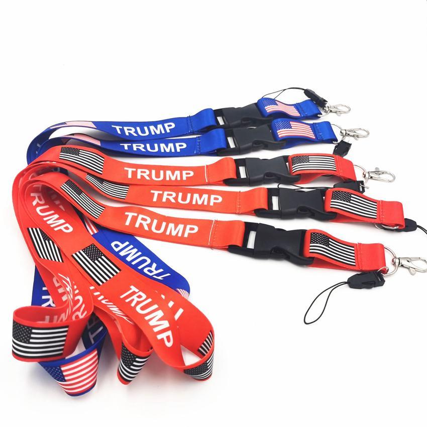 ترامب اسهم 2020 أمريكا الحبل الانتخابات المعلقات علم الولايات المتحدة الأمريكية جعل أمريكا العظمى المفتاح الدائري الأشرطة للهاتف المحمول أو بطاقات GGA3749-3