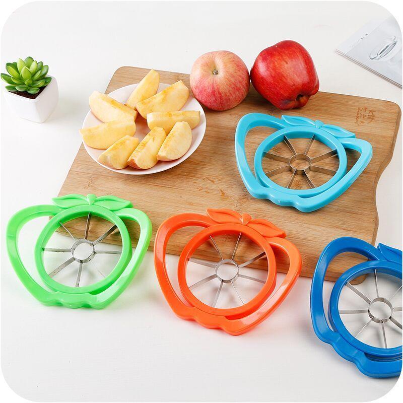 Fruit Slicer Apple Pear Cutter Stainless Steel Knife Corers Remover Vegetable Melon Chopper Peerler Divided Kitchen