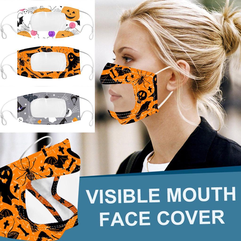 9 estilos transparente de la mascarilla camuflaje reutilizables y lavables máscaras del polvo anti anti-niebla Claro Diseñador mascarilla de DHL envía Adulit