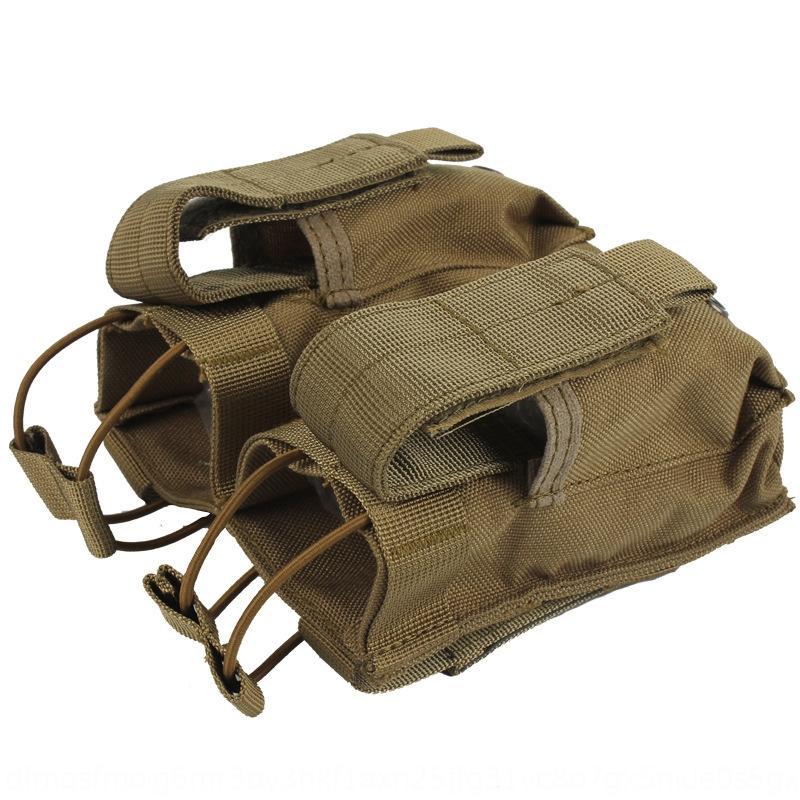 Nylon MOLLE Gants tactique Ventilateur multi-fonctionnels et des gants gant kit de charge à double sac de rangement bagfan 4I2OE