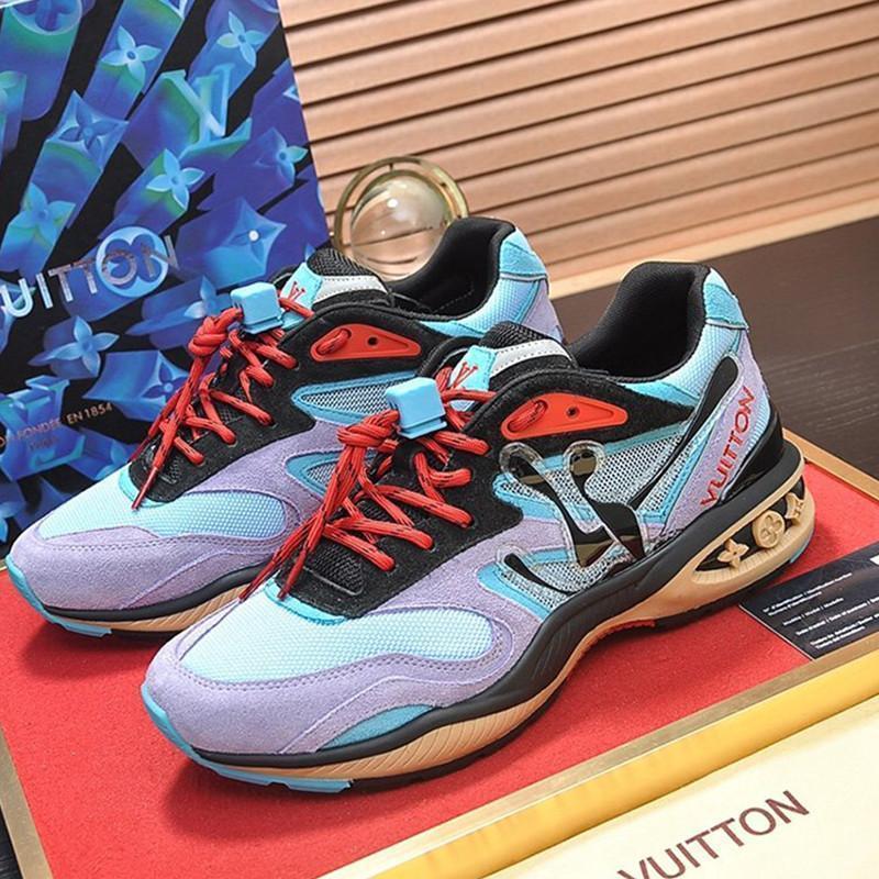 55 uomini del progettista scarpe sportive casual, outdoor scarpe alla moda casuali di viaggio, calzature sportive. Consegna veloce nella confezione scatola originale