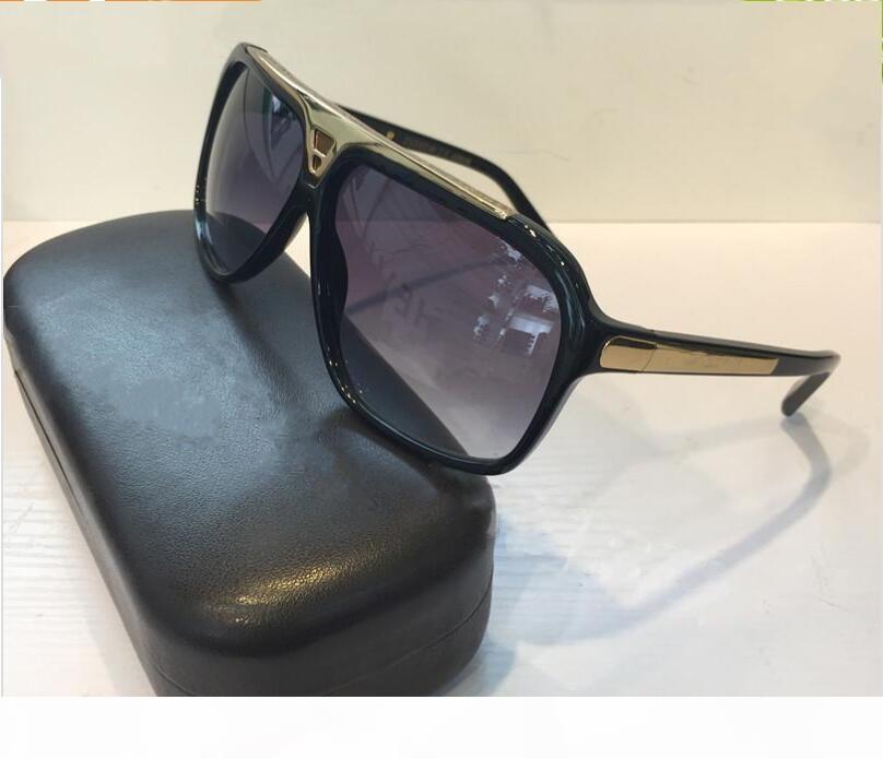 Geben Sie Schiff Beweis Sonnenbrille Retro-Vintage-Männer Sonnenbrille Designer glänzend Goldrahmen Frauen Sonnenbrille hochwertig mit Box Sunglasse