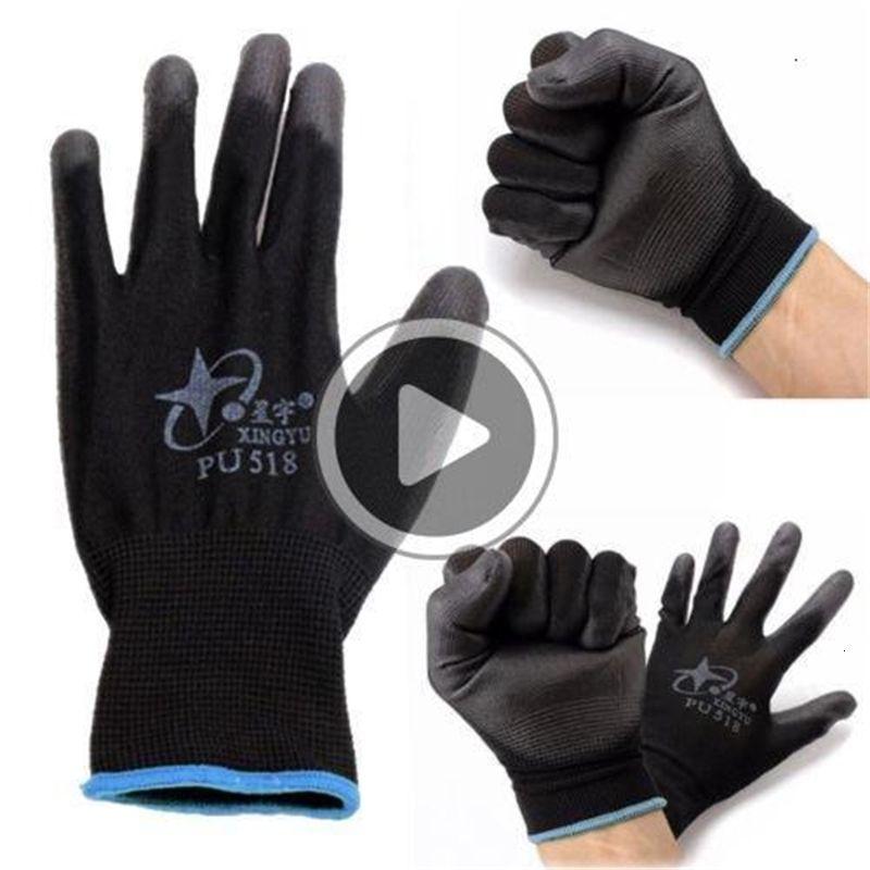 Новый нитрил покрытия Рабочих перчатки нейлоновой безопасность труд Фабрика сад Ремонт Protectore перчатка Мода Горячая