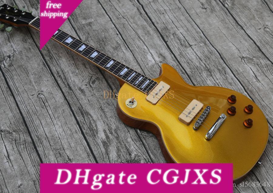 Ücretsiz Kargo! Toptan Özel Elektro Gitar, Kalite Gitarlar, 0510 Gd P90